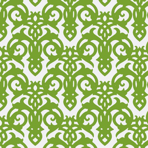 Green Imperial Damask