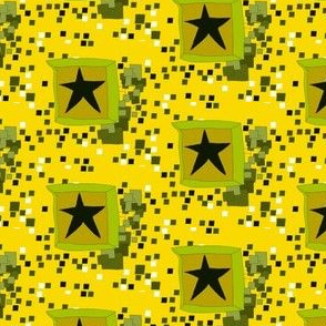 Star in a box yellow