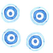 Watercolor Target Wheels