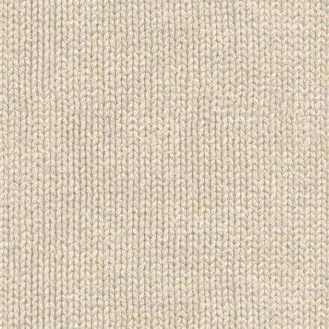 cream colored knit fabric by weavingmajor on Spoonflower - custom fabric