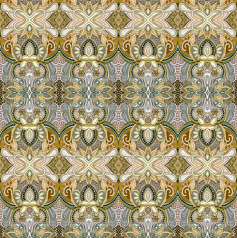 Autumn in Paisleyland fabric by edsel2084 on Spoonflower - custom fabric