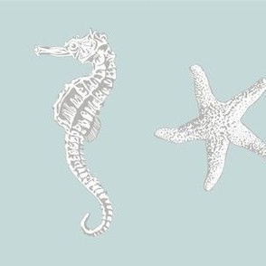 Ocean Life Gray