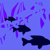 Blue Underwater World Fish