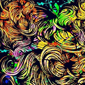 Psychedelic Hairball