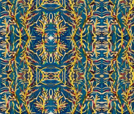 seaweed fabric by cherryjam on Spoonflower - custom fabric