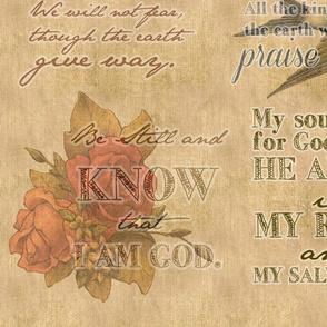Psalms on vintage