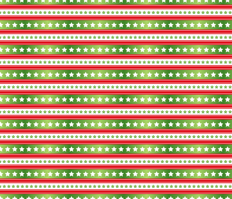 Holiday Stars & Stripes fabric by diane555 on Spoonflower - custom fabric