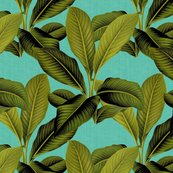 Rpalm_in_palm___tropical_blue_linen___peacoquette_designs___copyright_2015._shop_thumb