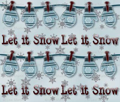 Mittens Let it Snow