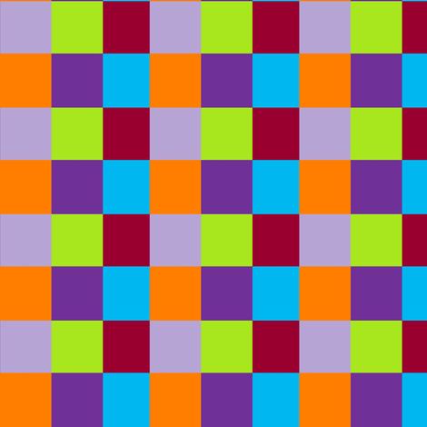 Mandarin Blocks fabric by jehania333 on Spoonflower - custom fabric