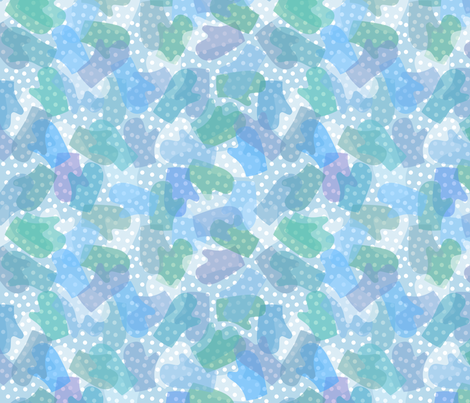 Snow Day camouflage fabric by weavingmajor on Spoonflower - custom fabric