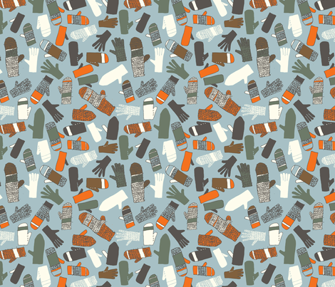 Lost property fabric by mariaspeyer on Spoonflower - custom fabric