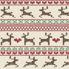Reindeer Fair Isle