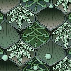 Mermaid's Wedding Feast  jade