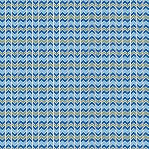 Blue ZigZags