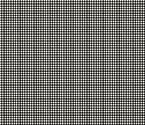 Black and Cream Gingham fabric by jolenebalyeatdesigns on Spoonflower - custom fabric