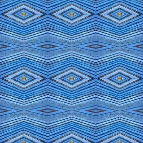Chevron blue