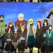 Naruto-Deidara-Gekkou-Hayate-Haku-Hoshigaki-Kisame-Jiraiya-Konan-Momochi-Zabuza-Nagato-Namikaze-Minato-Orochimaru-Sarutobi-Asuma