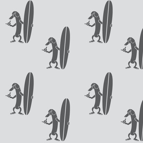 Surf Dachshund