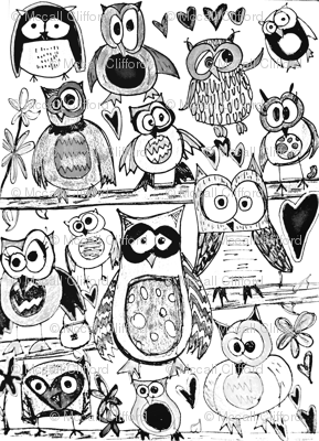 Color in Owls