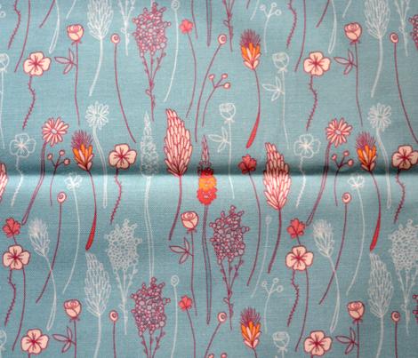 herbarium seamless pattern