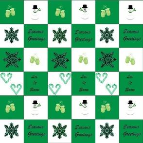 Mittens green