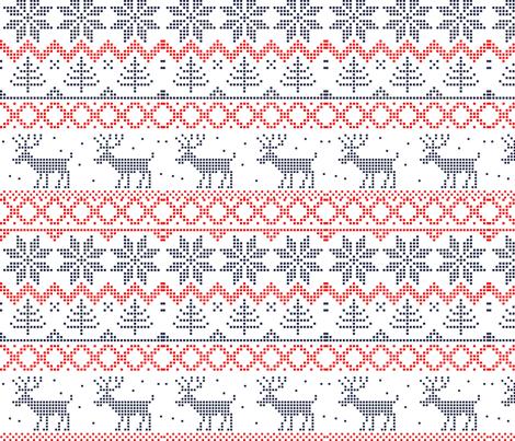 ugly sweater fabric by anastasiia ku on spoonflower custom fabric - Christmas Sweater Wallpaper