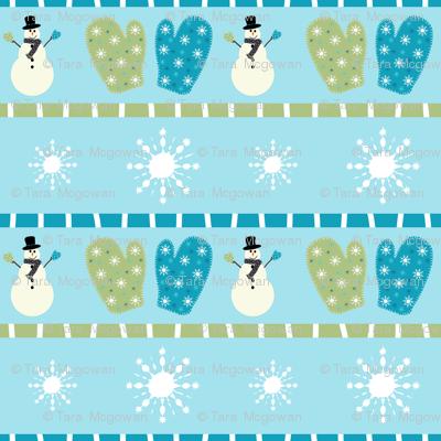 Frosty Mittens
