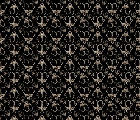 Winter Mittens fabric by sarah_twist on Spoonflower - custom fabric