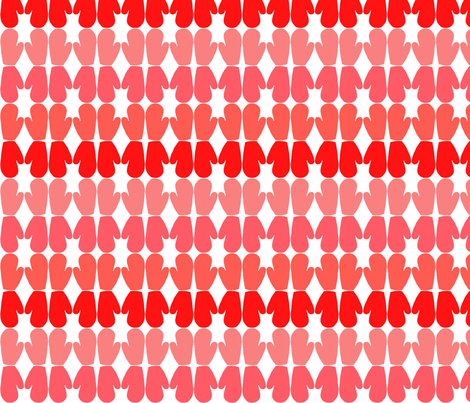 Mod Mittens fabric by fable_design on Spoonflower - custom fabric
