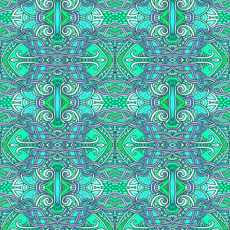 Chinese Knots fabric by edsel2084 on Spoonflower - custom fabric