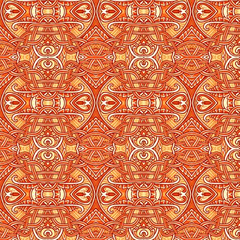 Braid and Heart Twist fabric by edsel2084 on Spoonflower - custom fabric