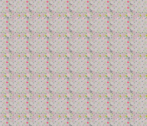 Ditsy Mittens fabric by creativeallure on Spoonflower - custom fabric