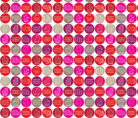 Mitaines fabric by snowflower on Spoonflower - custom fabric