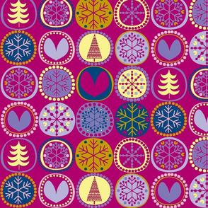Snowflake Pink