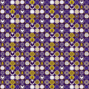 Snowflake Violet