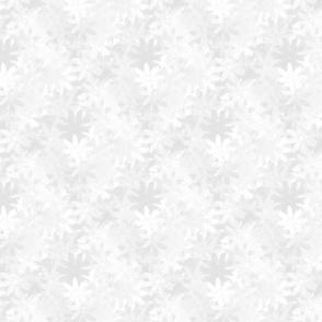 Floral White on White