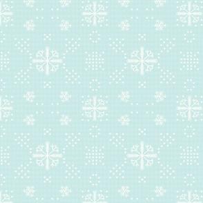 La fete d'hivre_flocons de neige
