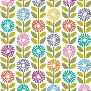 Daisy Chain wrapping paper