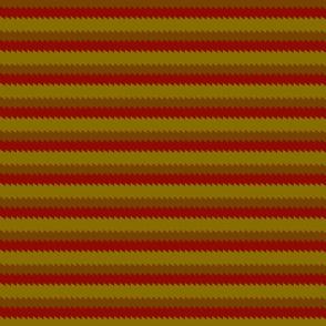 Jagged Edge Horizontal Stripe