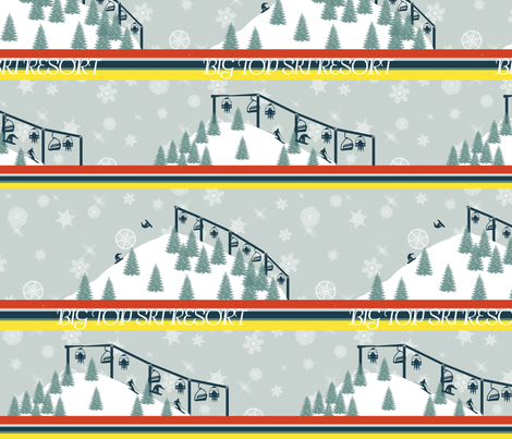 Big_Top_Ski_Resort_Smalller fabric by hmilwicz on Spoonflower - custom fabric