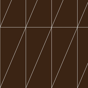 Chocolate Triangle Pattern by Friztin