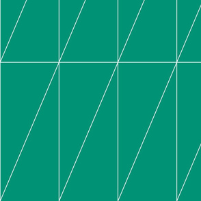 Emerald Triangle Pattern by Friztin