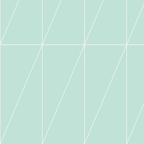 Mint Triangle Pattern by Friztin