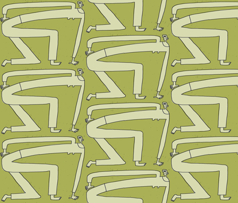 poised fabric by kimmurton on Spoonflower - custom fabric