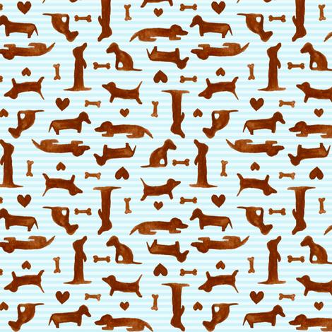 itty bitty teeny weenies fabric by katrinazerilli on Spoonflower - custom fabric