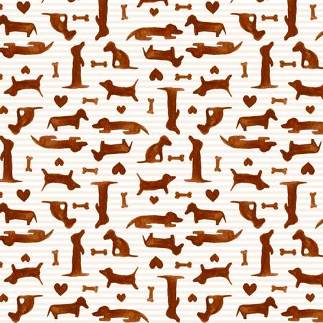 itty bitty teenie weenies fabric by katrinazerilli on Spoonflower - custom fabric
