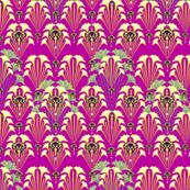 BEETLES-neon ruby
