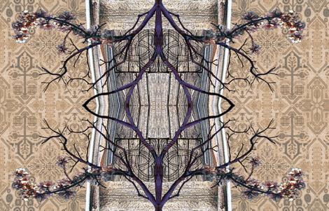 Tree of Life Canopy B fabric by novelatelier on Spoonflower - custom fabric
