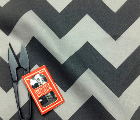Chevrons Black & Gray